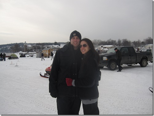 ice fishing 2011