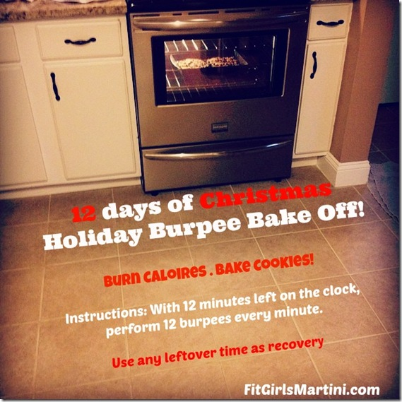 holiday burpee bake off