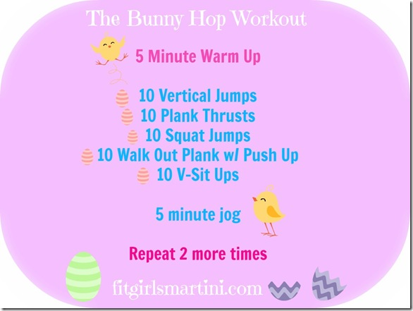 Bunny Hop Workout