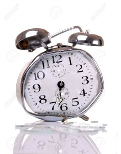7883730-Good-morning-Broken-alarm-clock--Stock-Photo